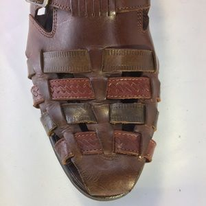 Stacy Adams sz 12M Leather Fisherman's Sandals